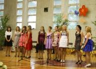 9.klases meiteņu priekšnesums