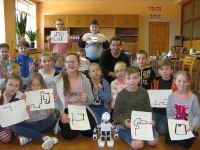 Mācības Robotu skolā